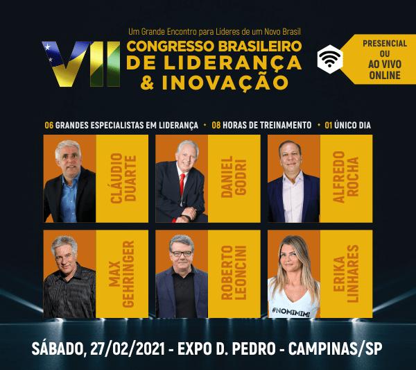 Congresso Brasileiro de Liderança e Inovação: confira tudo sobre o evento